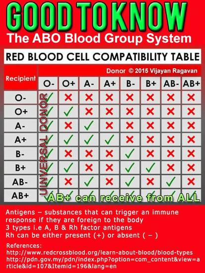 14 Facts About the Rh Blood Group System