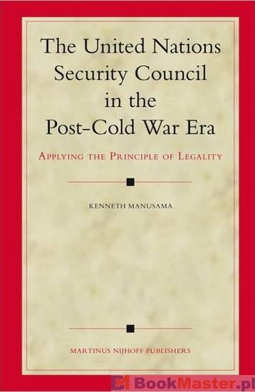 has the nature of security changed in the post cold war international system The security council, peacekeeping and internal conflict after the cold war  a universal system of international security oper-  post-cold war un operations.
