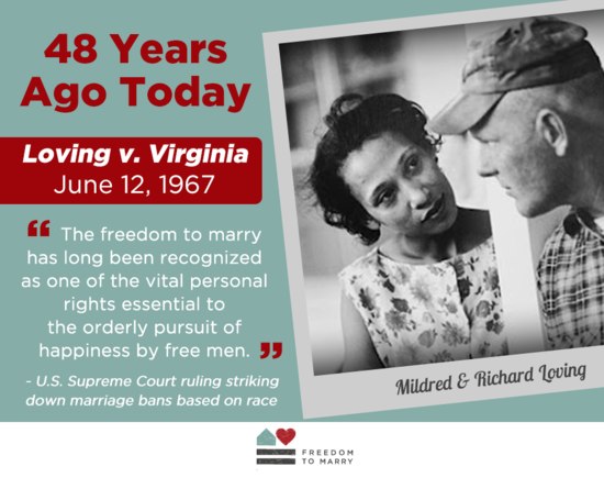 loving v virginia introduction facts legal The court's ruling in loving v  law of the land  states with such laws,  including virginia—to submit a brief as friend of the court in the loving litigation   at least in states that had enlarged the legal definition of marriage to.