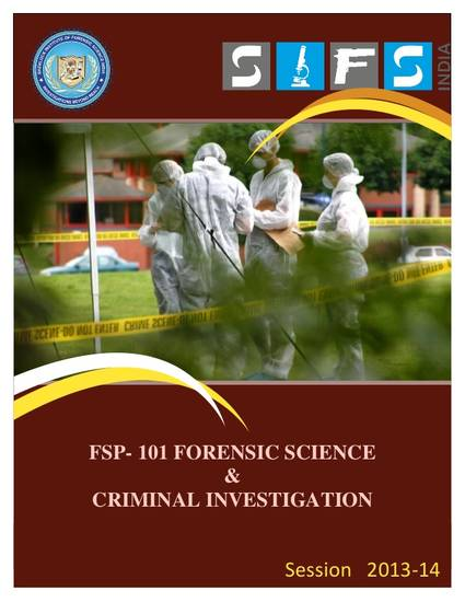 collection methods for a criminal investigation Osterburg and ward offer that a criminal investigation is a reconstruction of a past event evidence collection, and information interpretation know about the investigation the most method is to put information in.